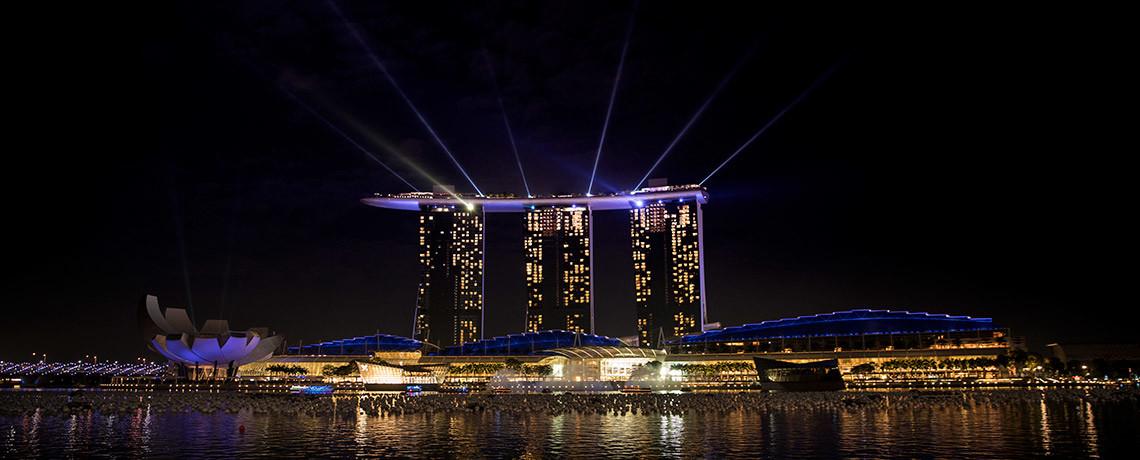 Weihnachten in Singapur - Marina Bay Sands © PhotoTravelNomads.com