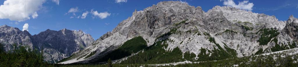 Wimbachtal Panorama