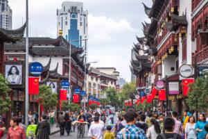 Yuyuan Old Street Shanghai